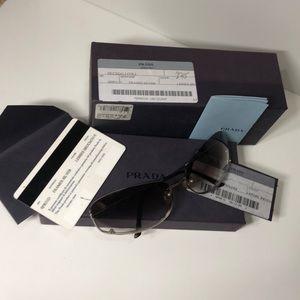 Prada Sunglasses w/ case/box/cards